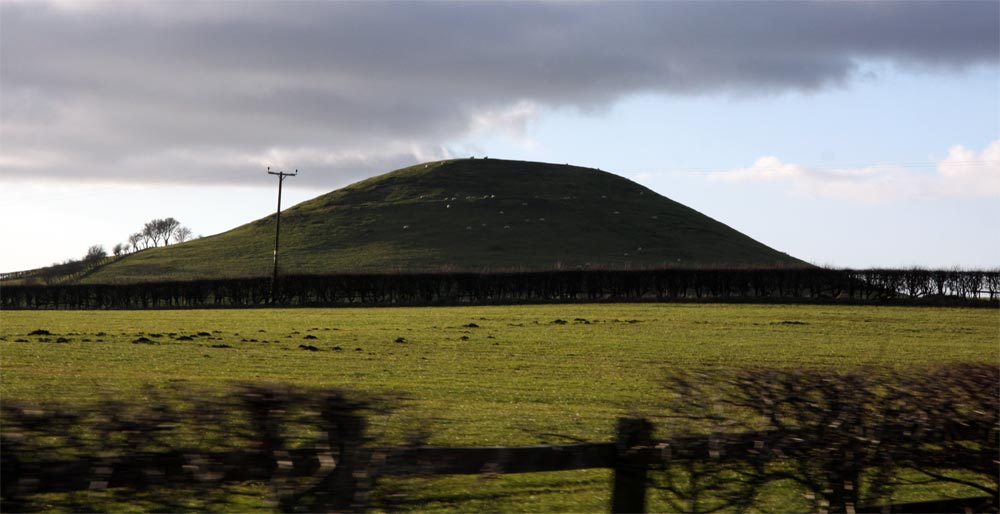 Neolithic Mound on the North Yorkshire Moors