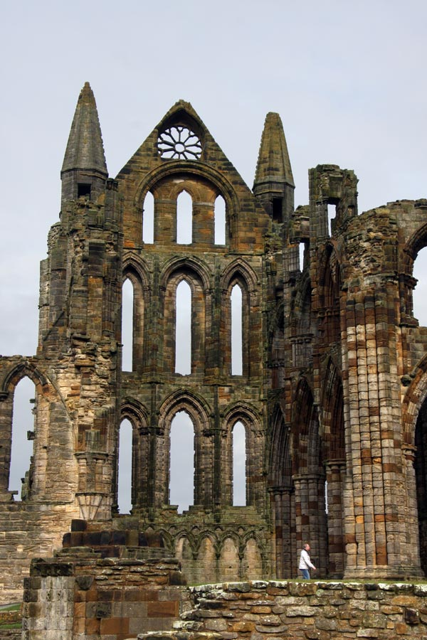 Spire at Whitby Abbey